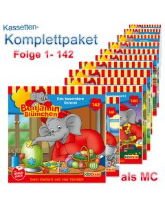 Benjamin Blümchen: 142er MC-Komplett-Box (Folge 1 - 142)