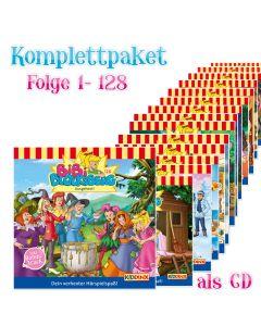 Bibi Blocksberg: 128er Komplett CD-Box (Folge 1 - 128)