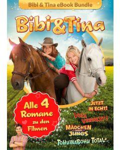 Bibi & Tina: 4er eBook-Box Kinofilm