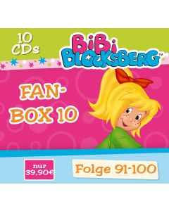 Bibi Blocksberg: 10er CD-Box 10 (Folge 91 - 100)