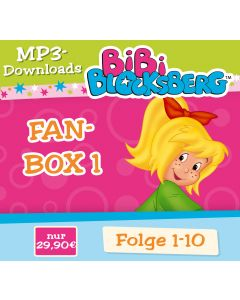 Bibi Blocksberg: 10er MP3-Box 1 (Folge 1 - 10)