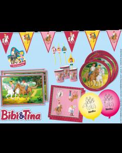 Bibi & Tina: Pferdestarkes Partyset für 8 Kids
