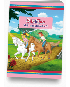 Bibi & Tina: Mal- und Rätselheft