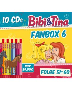 Bibi & Tina: 10er CD-Box 6 (Folge 51 - 60)