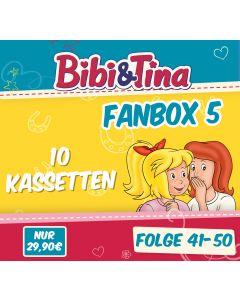 Bibi & Tina: 10er MC-Box 5 (Folge 41 - 50)