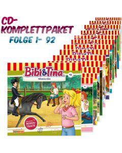 Bibi & Tina: 92er CD-Komplett-Box (Folge 1 - 92)