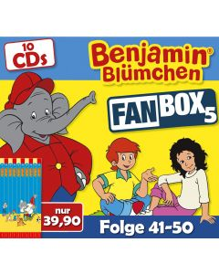 Benjamin Blümchen 10er CD-Box 5 (Folge 41 - 50)