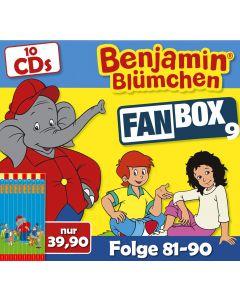 Benjamin Blümchen 10er CD-Box 9 (Folge 81 - 90)