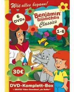 Benjamin Blümchen: 6er DVD-Box Classics