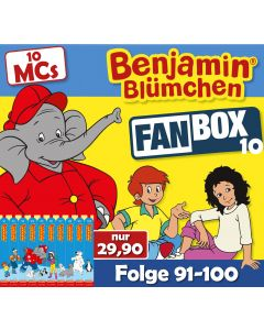 Benjamin Blümchen: 10er MC-Box 10 (Folge 91 - 100)