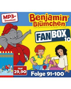 Benjamin Blümchen: 10er MP3-Box 10 (Folge 91 - 100)