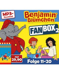 Benjamin Blümchen: 10er MP3-Box 2 (Folge 11 - 20)