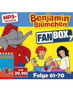 Benjamin Blümchen: 10er MP3-Box 7 (Folge 61 - 70)