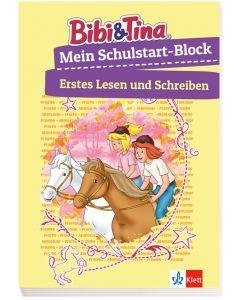 Bibi & Tina: Mein Schulstart-Block Erstes Lesen und Schreiben