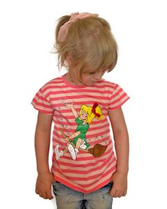 Bibi Blocksberg: Shirt mit Streifen (rosa)