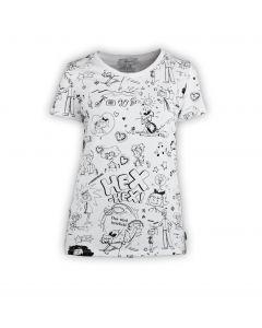 Bibi Blocksberg: Comic-Shirt (weiß)
