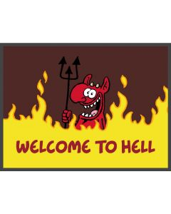 Ruthe: Fußmatte Welcome to Hell