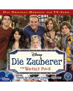 Die Zauberer vom Waverly Place: Amors Pfeil / .. (Folge 7)