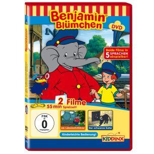 Benjamin Blümchen als Lokomotivführer / Der schwarze Kater