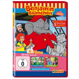 Benjamin Blümchen Der Erdbeereis-Roboter / Der Zauberzirkus