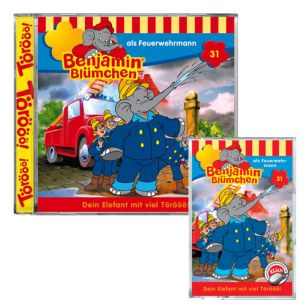 Benjamin Blümchen ... als Feuerwehrmann Folge 31