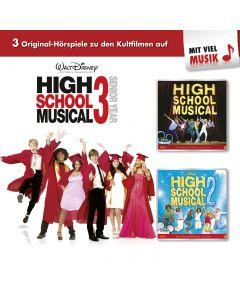 Disney: 3er MP3-Box High School Musical (Folge 1 - 3)