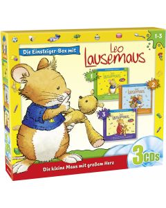 Leo Lausemaus: 3er Box Einsteiger-Box (Folge 1 – 3)