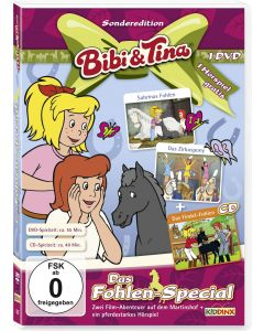 Bibi & Tina: 2er Box DVD+CD Fohlen