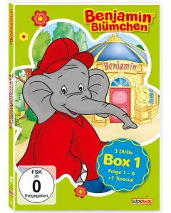 Benjamin Blümchen: 3er DVD-Box 1