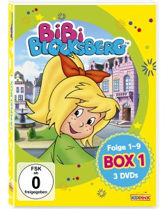 Bibi Blocksberg: 3er DVD-Box 1 (Folge 1-9)