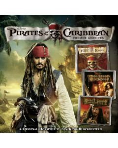 Fluch der Karibik: 4er MP3-Box Fluch der Karibik (Folge  1 - 4)