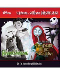 Disney: 2er MP3-Box Frankenweenie, Nightmare before Christmas