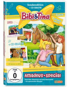 Bibi & Tina: 2er Box DVD+CD Amadeus-Special