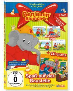 Benjamin Blümchen: 2er DVD+CD-Box Spaß auf der Baustelle