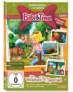 Bibi & Tina: 2er Box DVD+CD Das Wildtier-Special