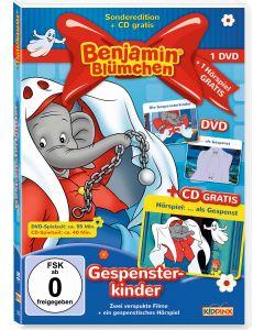 Benjamin Blümchen: 2er DVD+CD-Box Gespensterkinder