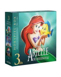 Disney: 3er Box Arielle die Meerjungfrau - Fan-Box