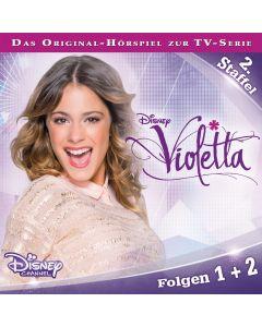 Violetta: Hörspiel zur Serie Staffel 2 Folge 1 & 2 (Folge 1 – 2)