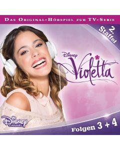 Violetta: Hörspiel zur Serie Staffel 2 Folge 3 & 4 (Folge 3 – 4)