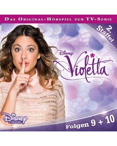 Violetta: Hörspiel zur Serie Staffel 2 Folge 9 & 10 (Folge 9 – 10)