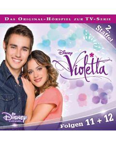 Violetta: Hörspiel zur Serie Staffel 2 Folge 11 & 12 (Folge 11 – 12)