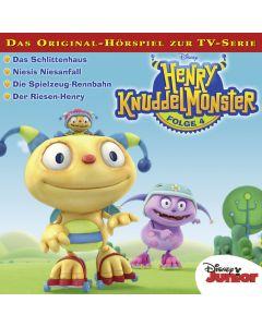 Henry Knuddelmonster: Das Schlittenhaus / .. (Folge 4)