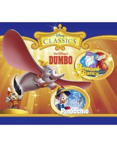 Disney: 3er MP3-Box Dumbo, Pinocchio, Bernard & Bianca