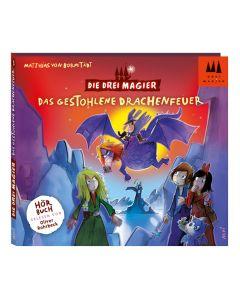 Die Drei Magier: Hörbuch Das gestohlene Drachenfeuer (Folge 3)