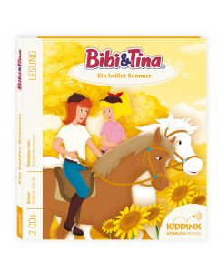 Bibi & Tina: Hörbuch Ein heißer Sommer (cd)