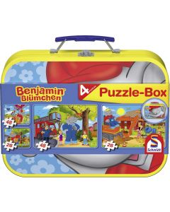 Puzzle-Box - im Metallkoffer