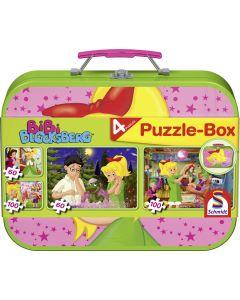 Puzzle-Box - im Metallkoffer