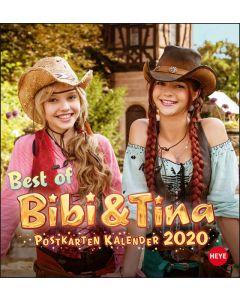 Bibi & Tina: Postkartenkalender 2020 Kinofilm
