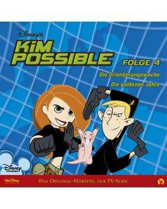 Disney Kim Possible Die Orientierungswoche / Die goldenen Jahre (Folge 4)