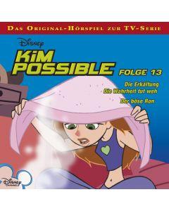 Disney Kim Possible Die Erkältung / Die Wahrheit tut weh / Der böse Ron (Folge 13)